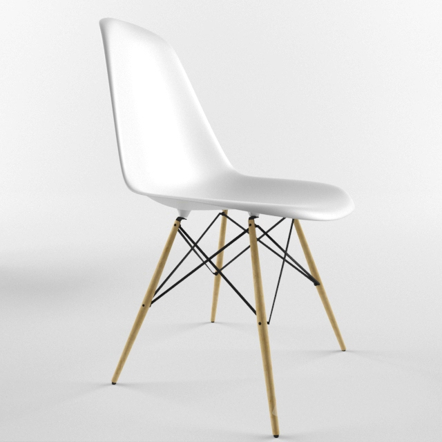 & 3d models: Chair - Eiffel Stuh by Charles Eames