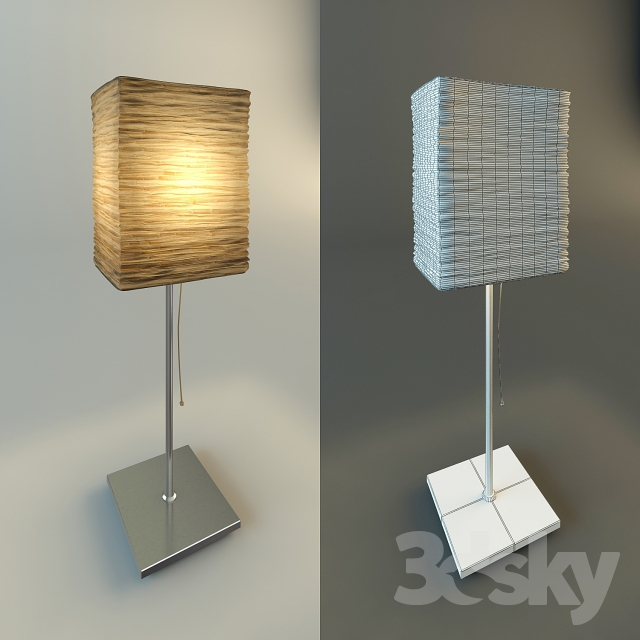 3d models table lamp orgel lamp from ikea orgel lamp from ikea aloadofball Image collections
