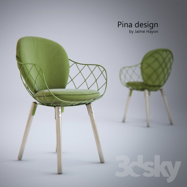 Pina Design 3d models chair pina design by jaime hayon