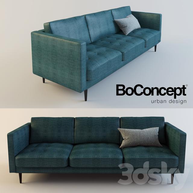 3d models sofa boconcept osaka - Gelbe couch ...