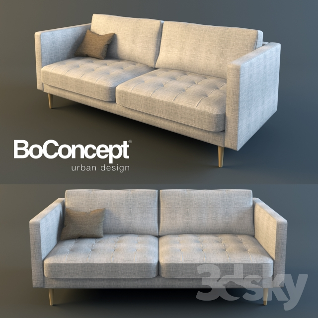 3d models sofa boconcept osaka double