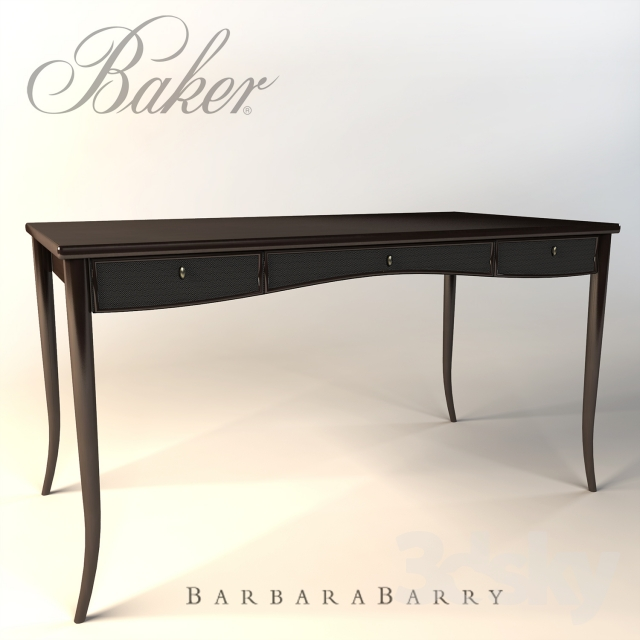 Barbara Barry Caned Desk For Mcguire