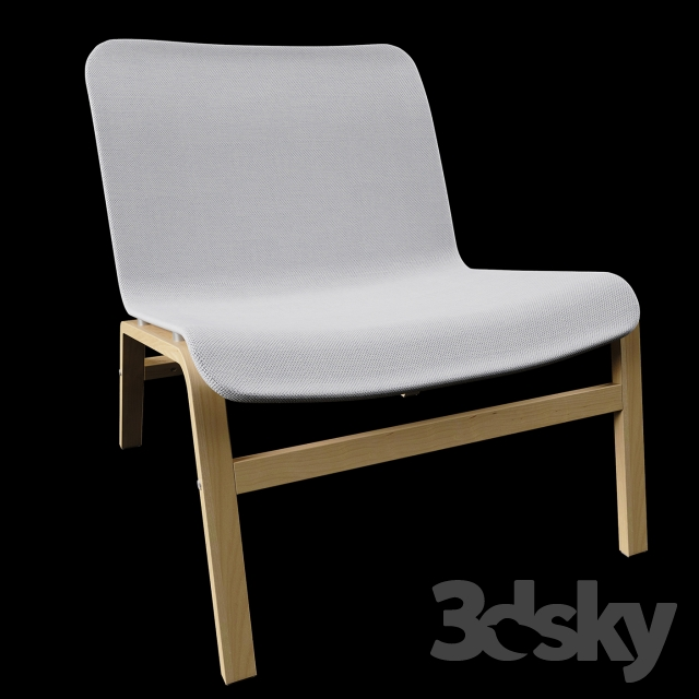3d Models Arm Chair Ikea Nolmyra