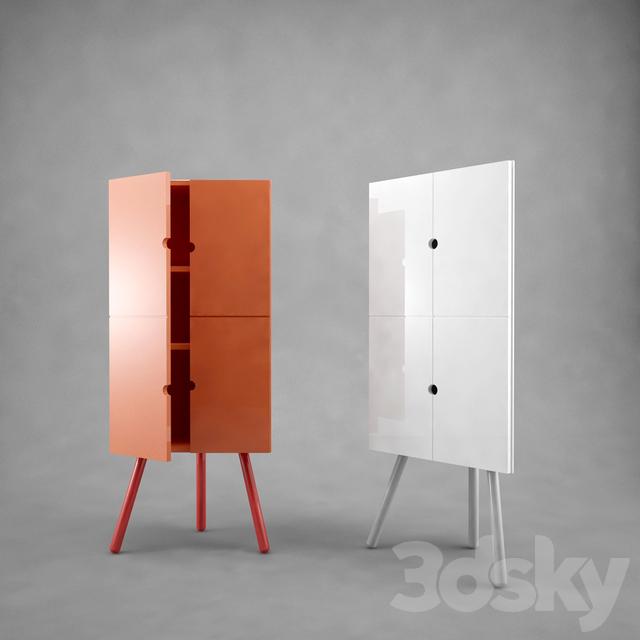 3d Models Wardrobe Amp Display Cabinets Corner Cabinet