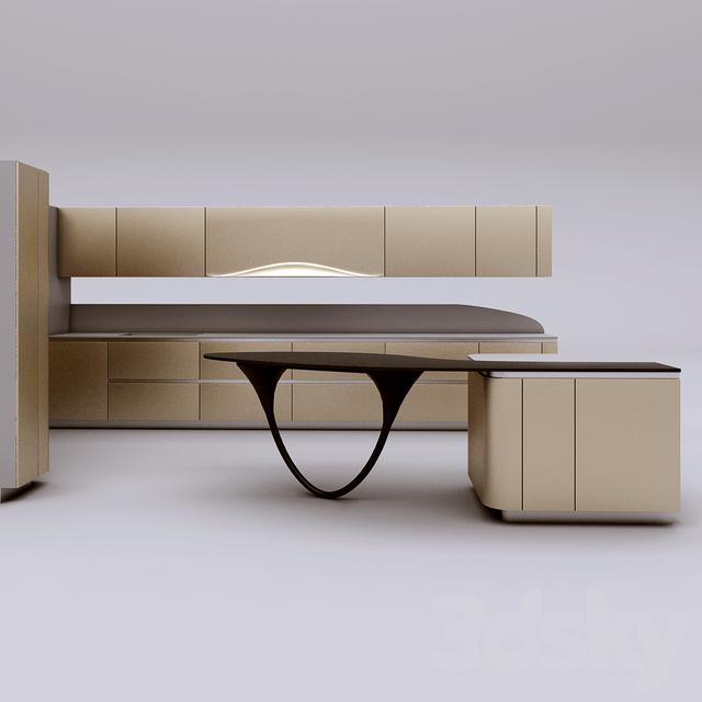3d models: Kitchen - Snaidero Ola 20