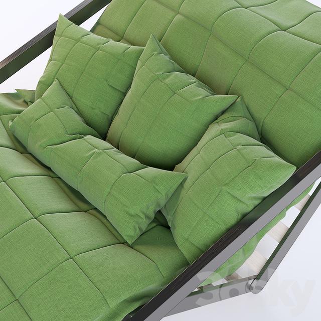 3d models other soft seating karup figo sofa bed 120 for Sofa bed 3d model