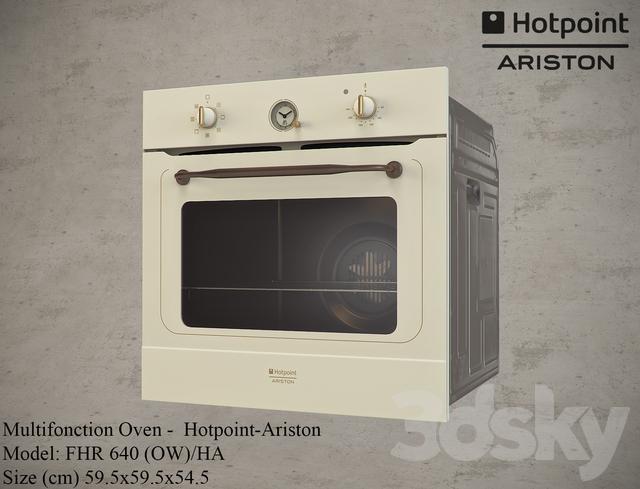 hotpoint ariston 3d models  kitchen appliance   hotpoint ariston  rh   3dsky org