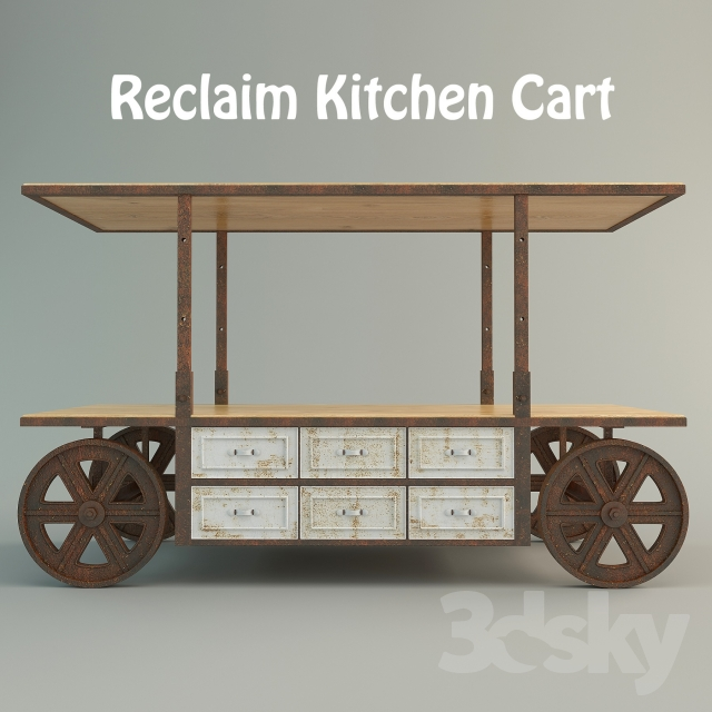 Kitchen Trolley Accessories: 3d Models: Other Kitchen Accessories