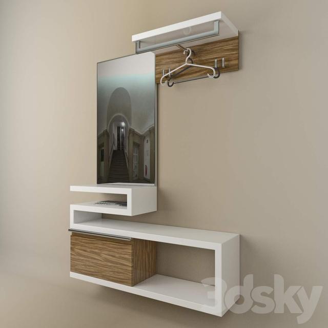 Modern Foyer Furniture By Sudbrock : D models other hallway subdrock model sento germany