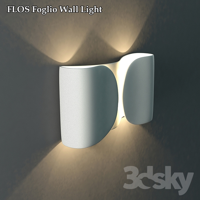 3d models wall light lamp flos foglio wall light lamp flos foglio wall light aloadofball Gallery