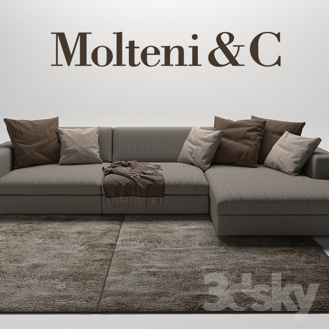 3d models sofa turner sofas molteni c. Black Bedroom Furniture Sets. Home Design Ideas