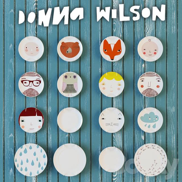 Plates Donna Wilson