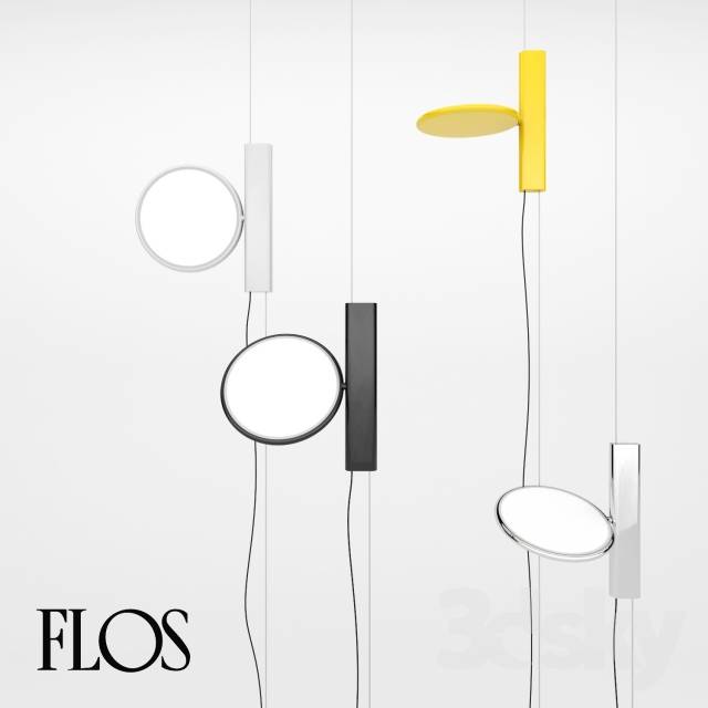 3d Models Ceiling Light Flos Ok Lamp