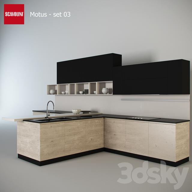 Kitchen Scavolini - Motus set 3