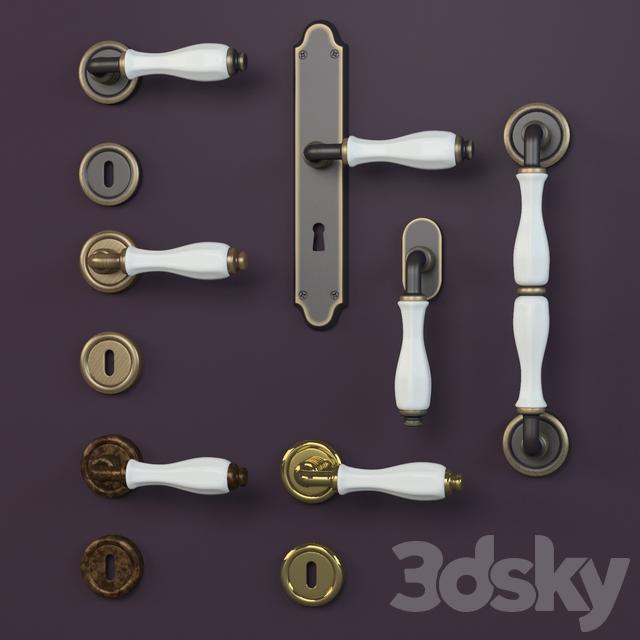 Linea Cali doorknobs erica