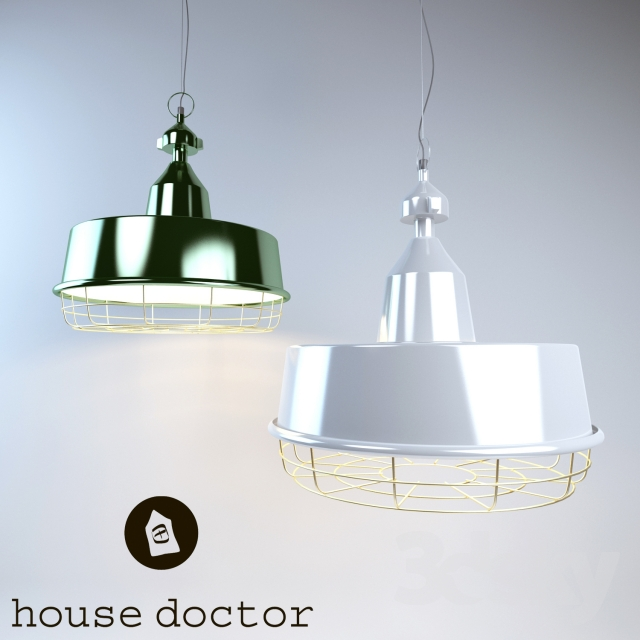 3d models ceiling light lamp house doctor cb0423 and cb0424. Black Bedroom Furniture Sets. Home Design Ideas
