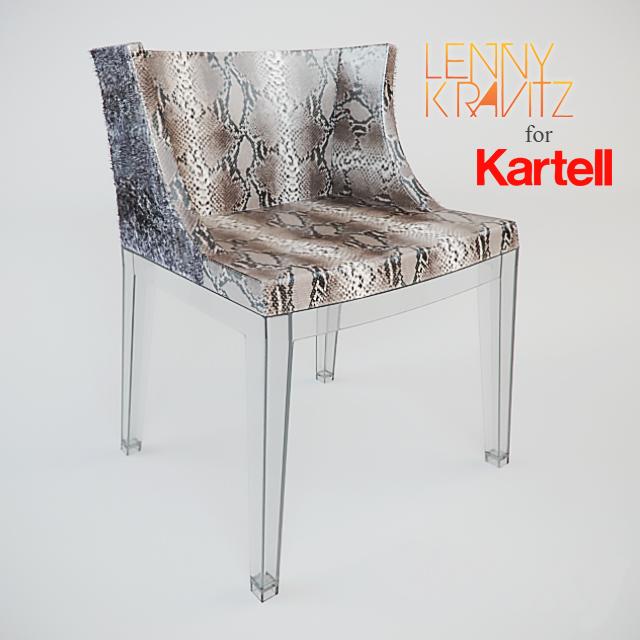 Chair Mademoiselle Lenny Kravitz For Kartell