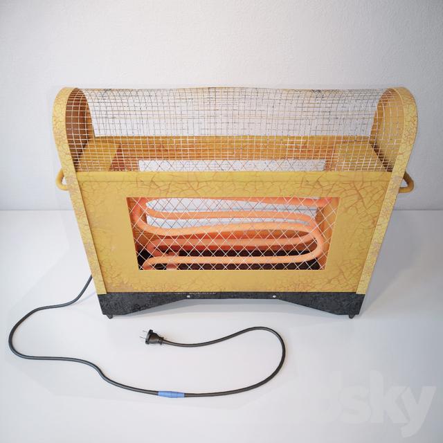 Soviet electric heater
