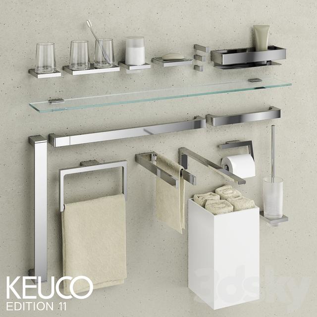 3d models bathroom accessories keuco edition 11. Black Bedroom Furniture Sets. Home Design Ideas