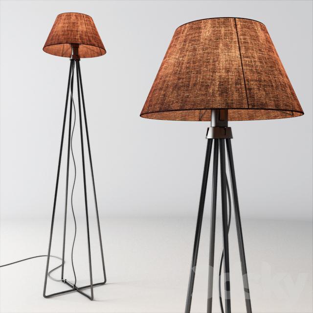 3d Models Floor Lamp Ikea Astorp