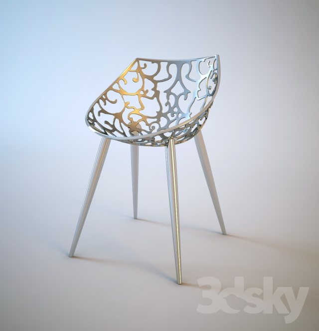 3d Models Chair Miss Lacy Driade 2007