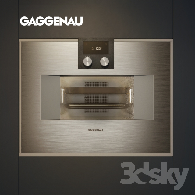 3d models household appliance gaggenau oven. Black Bedroom Furniture Sets. Home Design Ideas