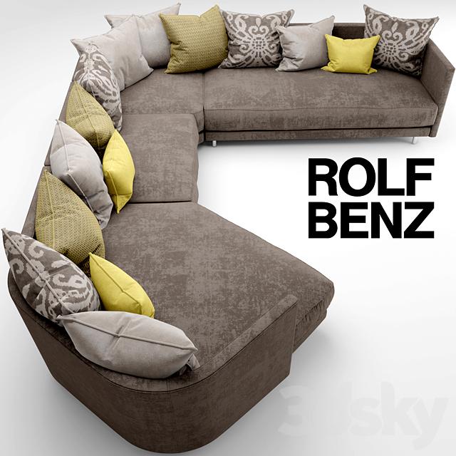 3d Models Sofa Sofa Rolf Benz Onda