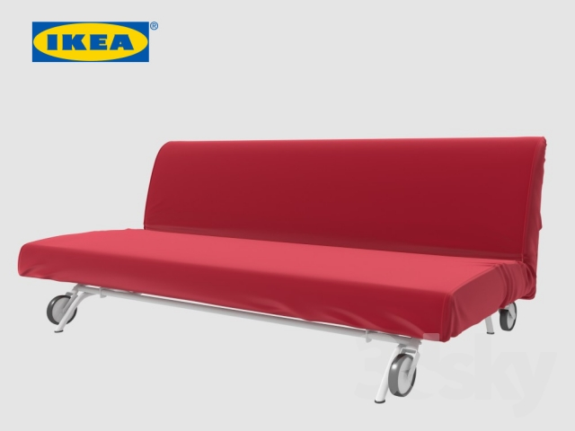 3d Models Sofa Ikea Ps Lovas Sofa Bed