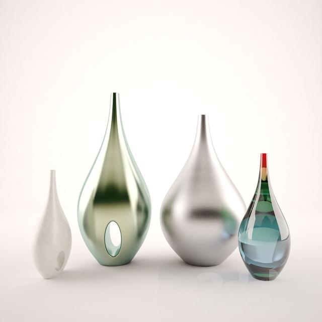 3d Models Vase Vases In Scandinavian Style
