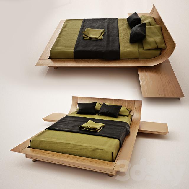 3d Models Bed Aqua Presotto Italia
