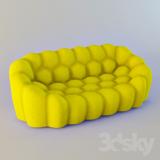 3d Models Sofa Roche Bobois Bubble
