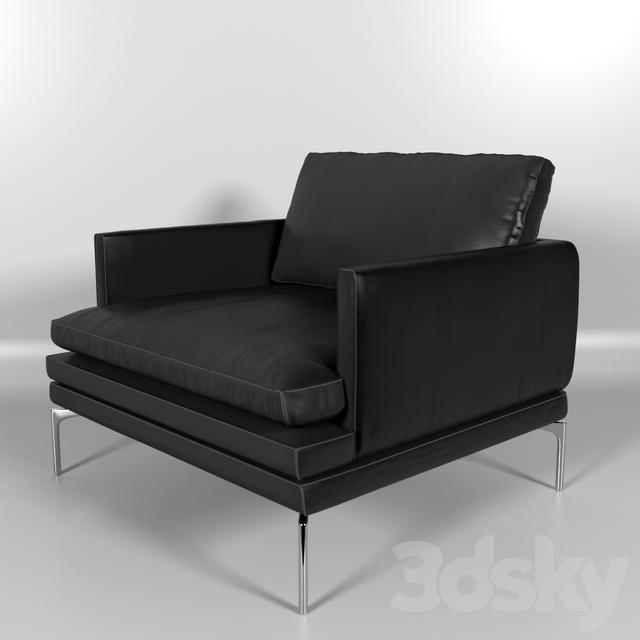 3d models arm chair zanotta william armchair. Black Bedroom Furniture Sets. Home Design Ideas