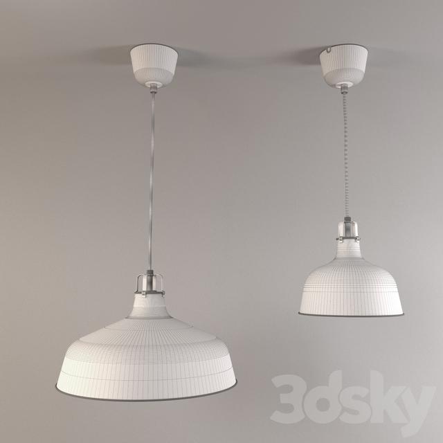 3d Models Ceiling Light Ikea Ranarp Suspension