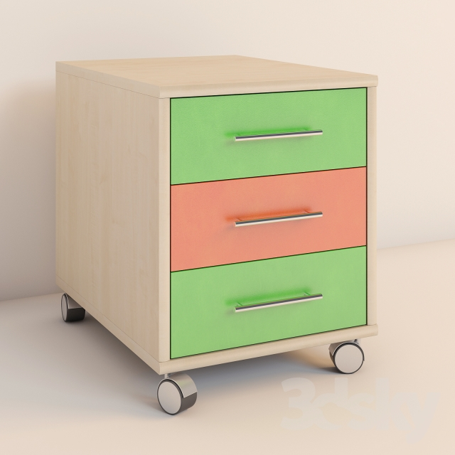 Charmant 3d Models: Full Furniture Set   Childrenu0026#39;s Furniture Rohr   Beat Series