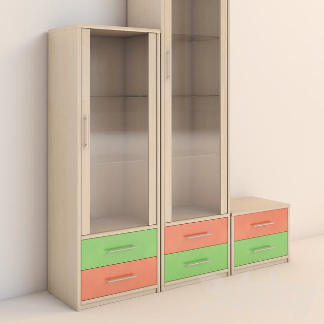 3d Models: Full Furniture Set   Childrenu0026#39;s Furniture Rohr   Beat Series
