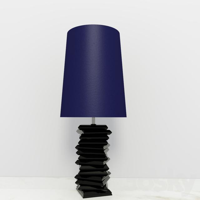 BOCA DO LOBO Tribeca. Table Lamp Soho Collection