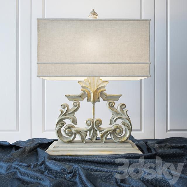 Table Lamp Golden Harp Table Lamp