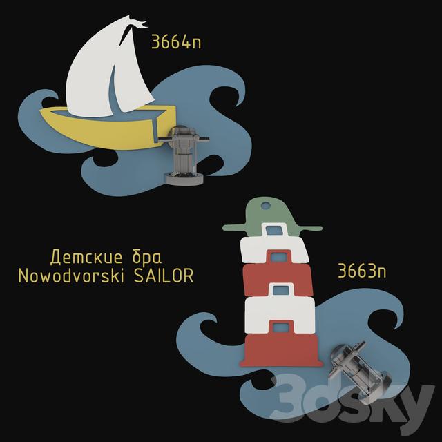Baby sconces Nowodvorski SAILOR