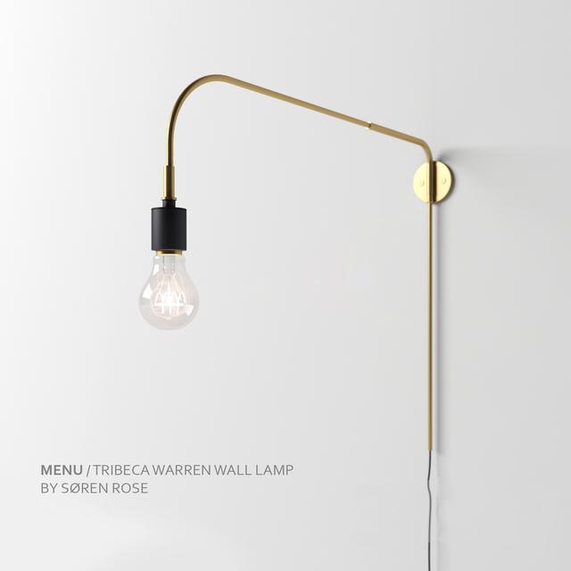 3d models: Wall light - Menu Tribeca Warren Wall Lamp