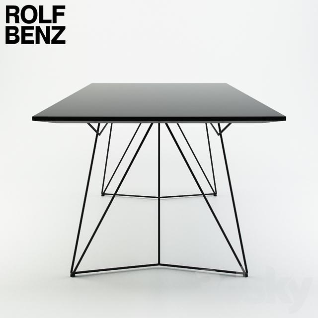 3d models table rolf benz co sinus 3. Black Bedroom Furniture Sets. Home Design Ideas