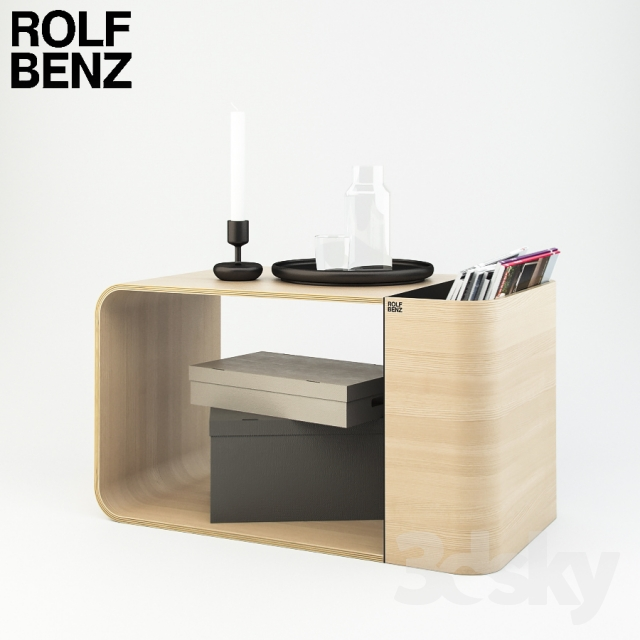 3d models table rolf benz 974. Black Bedroom Furniture Sets. Home Design Ideas