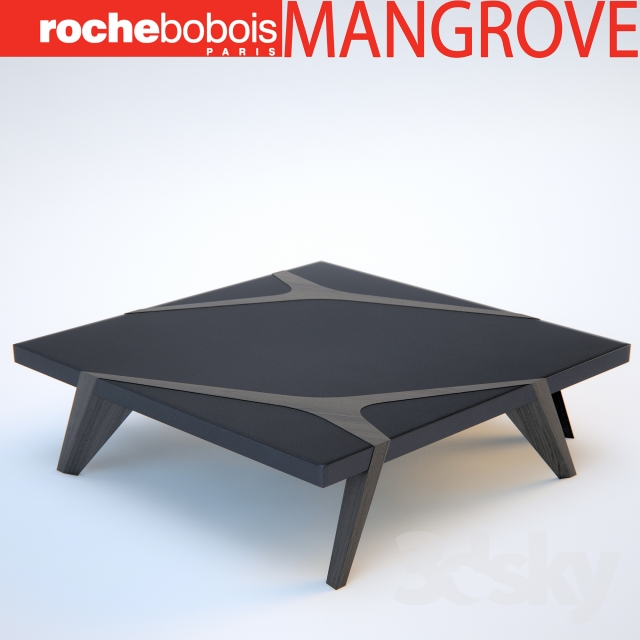 3d models table roche bobois mangrove cocktail table Roche bobois coffee table