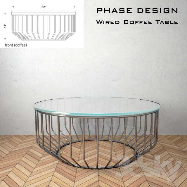 Beau 3d Models: Table   Wired Coffee Table