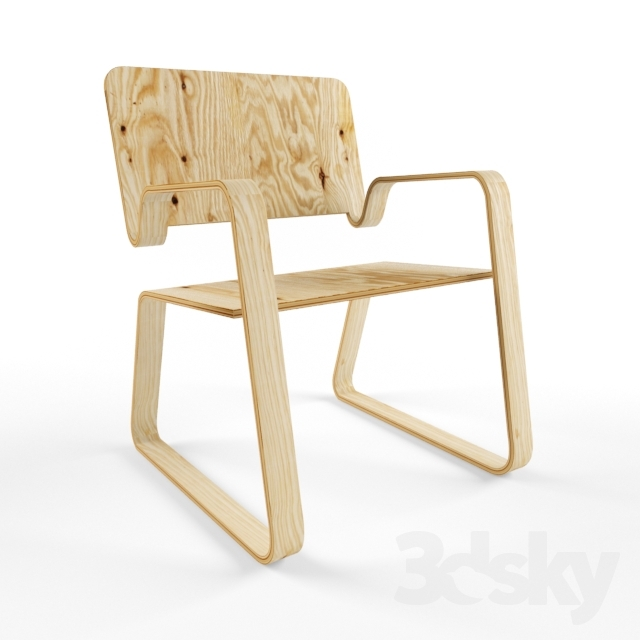 3d Models Chair Polywood Chair By Sofia Paula Santos