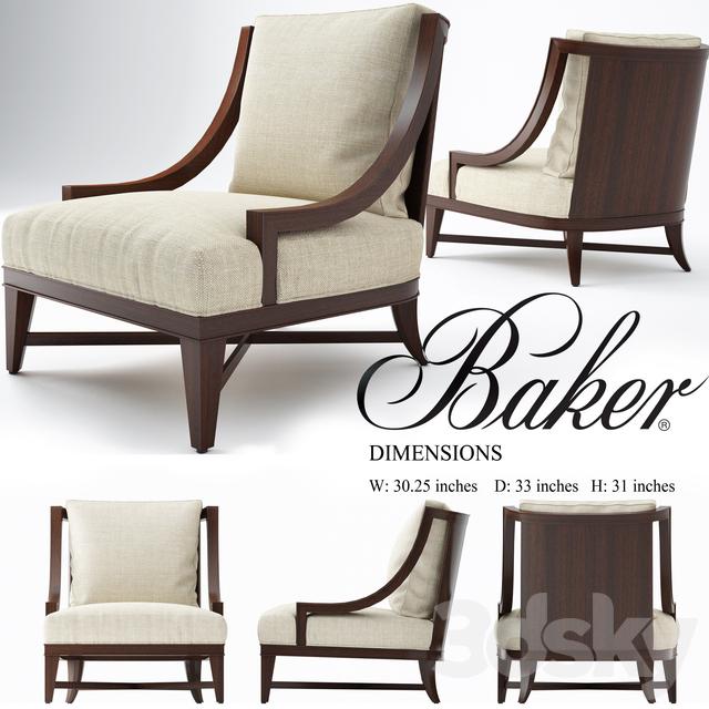 Nob Hill Lounge Chair, Baker Chair