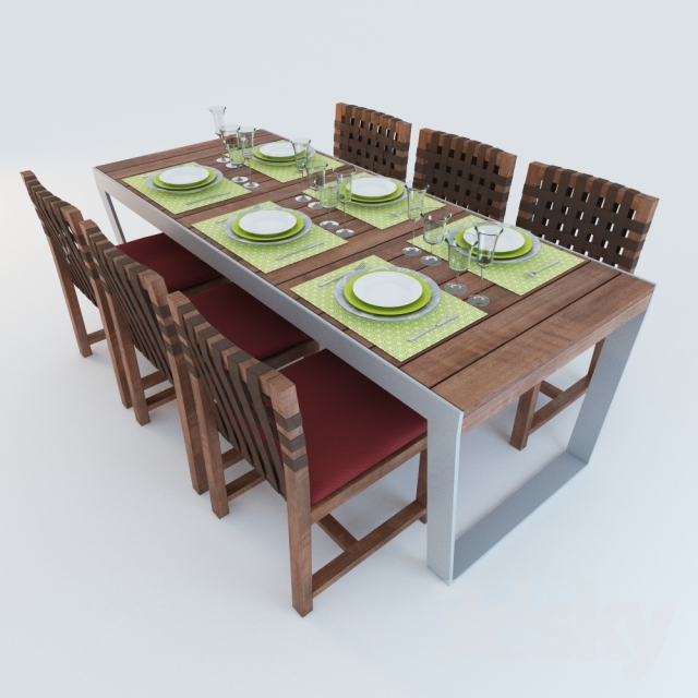 Tables And Chairs. Outdoor Furniture Roda