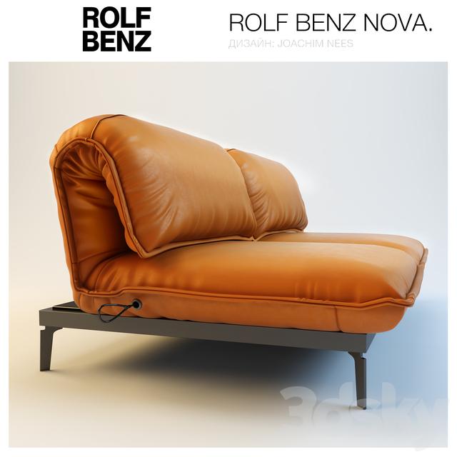 3d models sofa sofa rolf benz nova. Black Bedroom Furniture Sets. Home Design Ideas