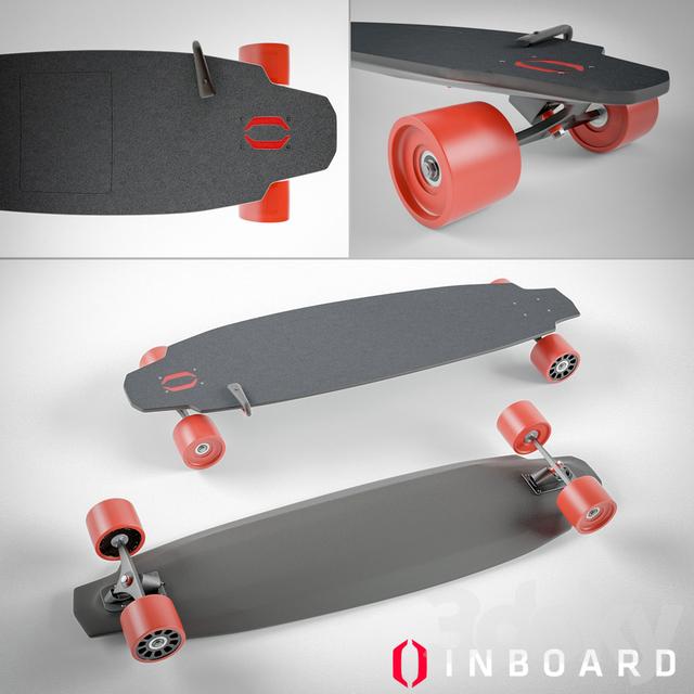 3d models: Sports  electric monolith skateboard