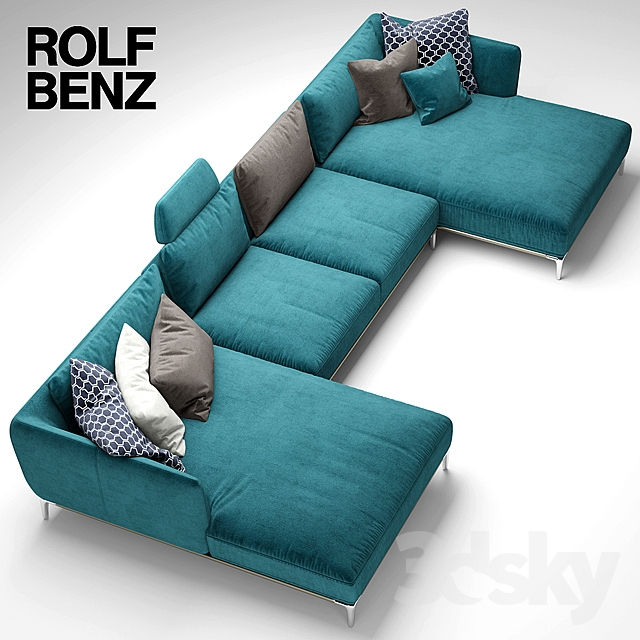 3d models sofa sofa rolf benz scala. Black Bedroom Furniture Sets. Home Design Ideas
