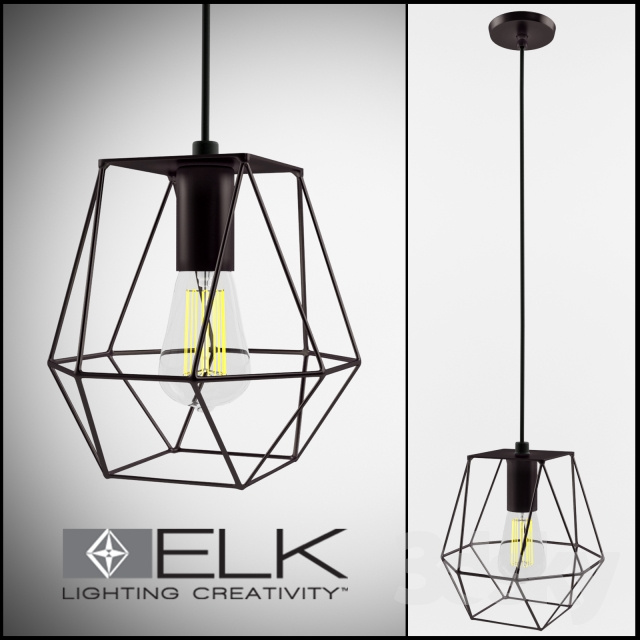 Elk Lighting Delaney 1 Light Foyer Pendant
